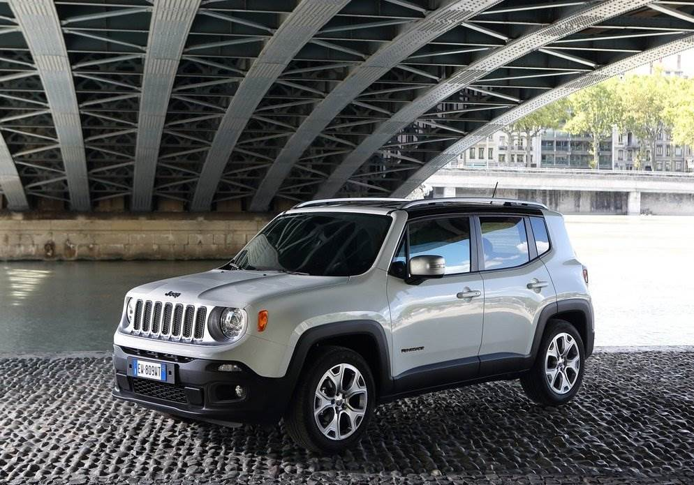 Imagen promocional del Jeep Renegade 2018