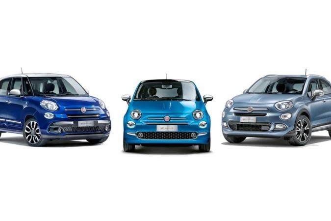Imagen promocional de la familia de vehículos Mirror de Fiat.