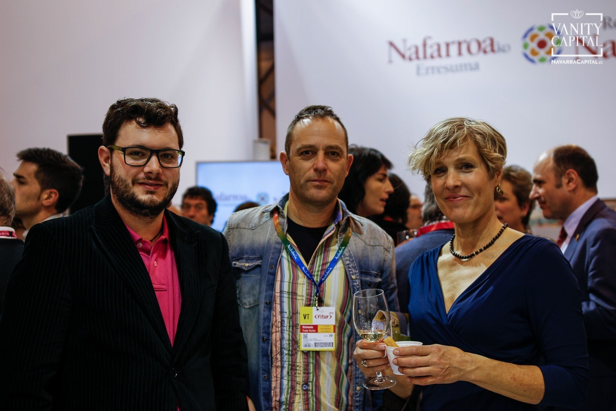 Imágenes del stand de Fitur en Navarra 2018