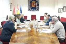 La Delegación del Gobierno en Navarra acogió la reunión de la Comisión Territorial de Inspección de Trabajo formada por representantes del Ministerio de Empleo y Gobierno de Navarra.