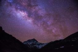 Contemplar las estrellas es una oportunidad única en el valle del Roncal.