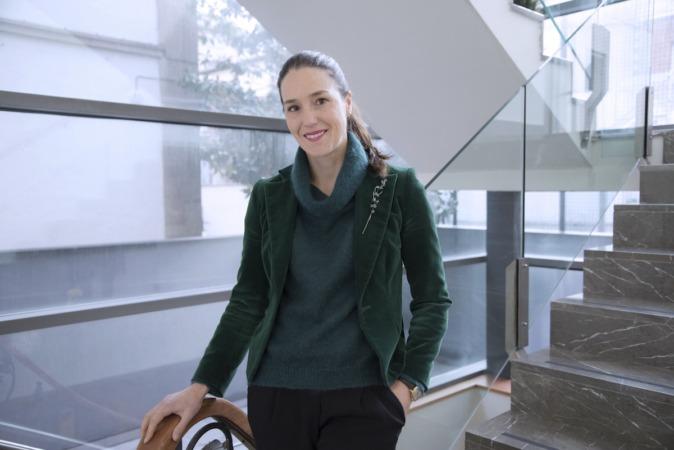 Ana Benavides, directora general de Fundación Lealtad en las instalaciones de CEN. (FOTOGRAFÍAS: DAVID MUÑIZ)