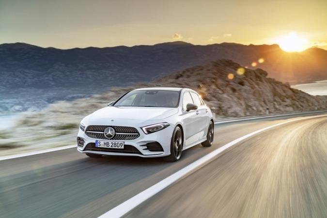 Imagen promocional del nuevo Clase A de Mercedes Benz.