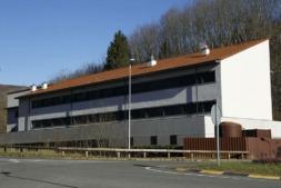 Vista exterior del Centro de Lekaroz que ahora acogerá las instalaciones de Aspace.