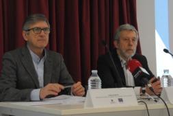 Carlos Zufía y Juan Las Navas, durante la presentación del estudio.