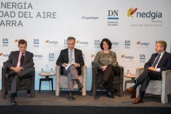 Lage, Roldán, Rodríguez y Miranda durante el debate