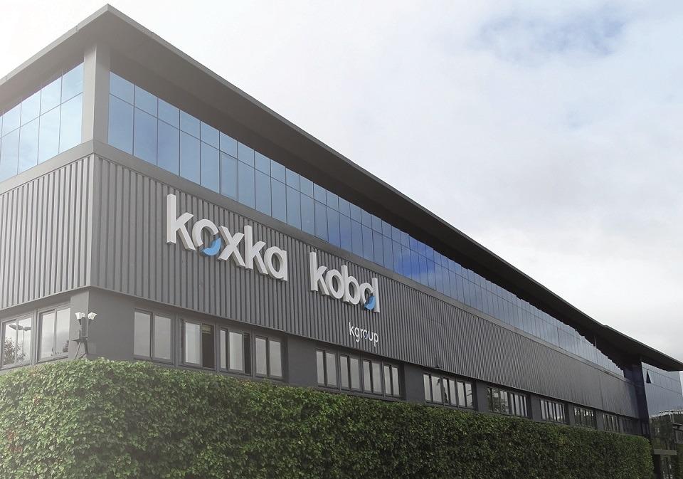 Imagen exterior de la factoría Kgroup en Landaben