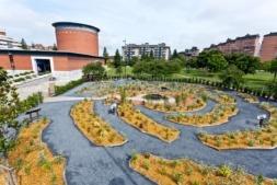El Jardín de la Galaxia, proyecto de divulgación científica y ambiental del Planetario de Pamplona.