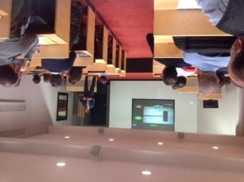 Javier Molina, durante el curso en ESIC (2)