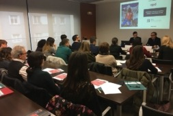 "Un momento de la Jornada de APD celebrada en la CEN sobre ""Agenda Laboral 2018""."