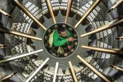 """AIN y Electricidad Industrial Iruña trabajan en el proyecto 'Mamelect', para que las máquinas """"avisen"""" antes de estropearse."""