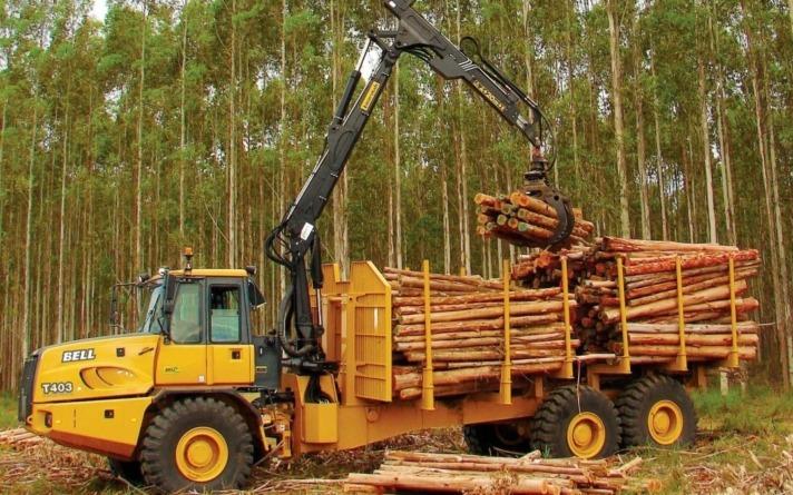 Cerca de 400 empresas en la Comunidad foral trabajan en el sector de la madera.
