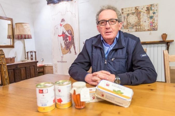 José Pedro Salcedo Herce, propietario y director de Conservas El Navarrico, III premio  Empresa Familiar de ADEFAN (FOTOS: Víctor Rodrígo).