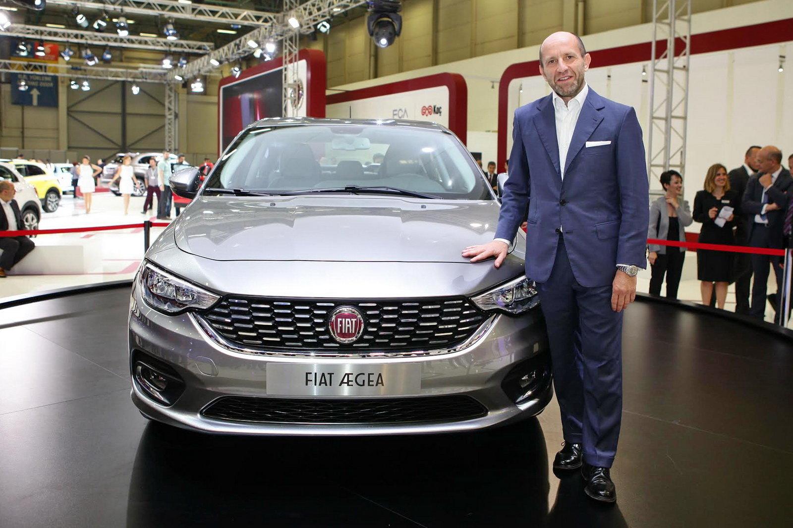 Luca Napolitano, director de la marca FIAT para EMEA.