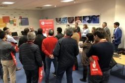 Un momento del showroom celebrado en Aditech por Inycom y ACAN