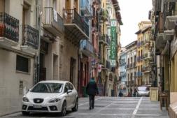 La mayoría de la oferta de alojamientos turísticos irregulares se concentra en el Casco Antiguo de Pamplona.