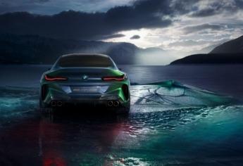 BMW M8 Gran Coupé Concept TRASERA