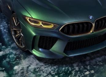 BMW M8 Gran Coupé Concept- detalle faro