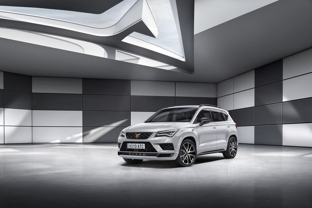 Imagen promocional del nuevo modelo CUPRA.