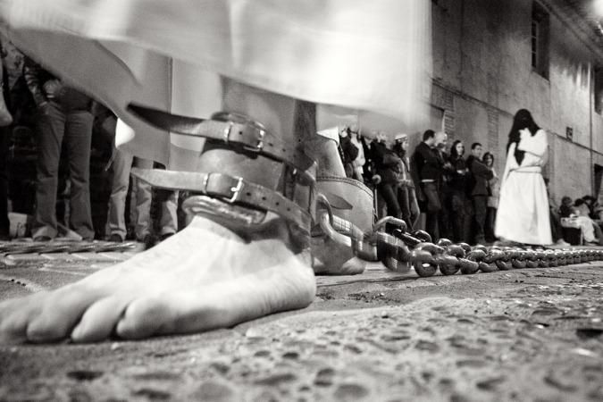 Procesión de Semana en Corella, Navarra (FOTO: Patxi Uriz).