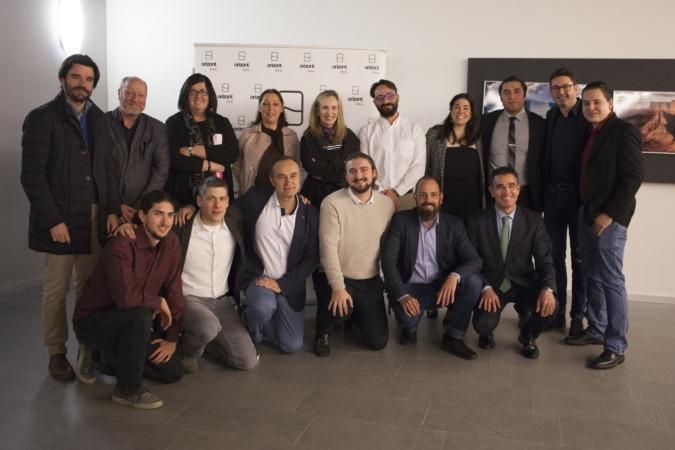 Foto de familia de los participantes en la Demo Day celebrada en Tudela.