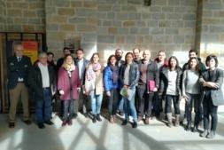Foto de familia de los agentes miembro del Sistema Navarro de Innovación, SINAI.