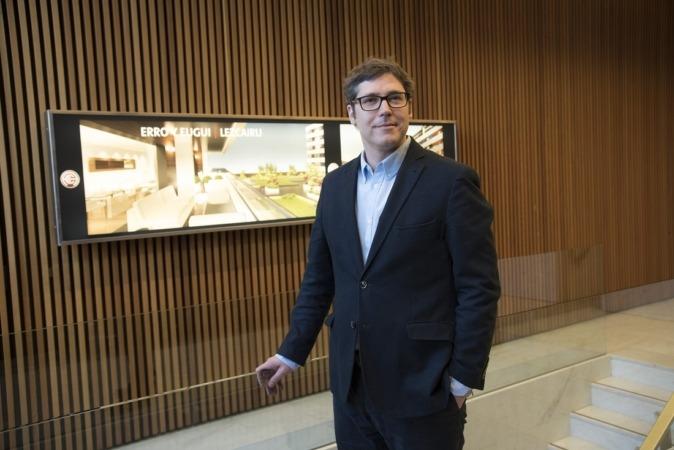 Guillermo Beguiristáin, director técnico de Construcciones Erro y Eugui