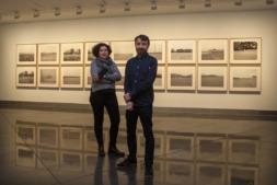 María Bleda (Castellón, 1969) y José María Rosa (Albacete, 1970), en una de las partes de su exposión en el MUN (FOTO: Manuel Castells).