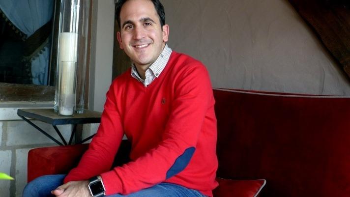 Manuel Baigorri, periodista navarro de Bloomberg.