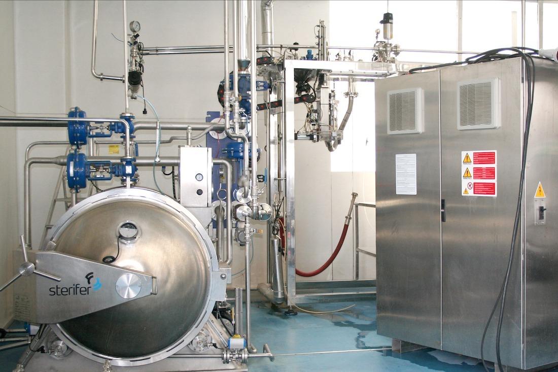 Detalle de la planta piloto de CNTA donde tendrán lugar las sesiones prácticas del BPCS. (FOTO CEDIDA)