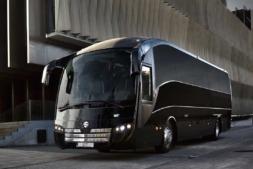 Imagen de uno de los autobuses de Sunsundegui, empresa líder en diseño y producción.