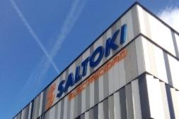 Imagen exterior de la sede de Saltoki en Landaben.