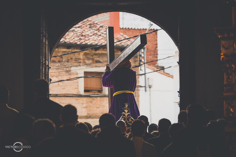Procesión de Semana Santa (FOTO: Víctor Rodrigo)