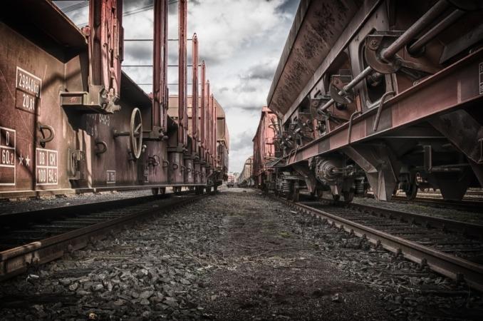 Imagen de un vagón de mercancía.