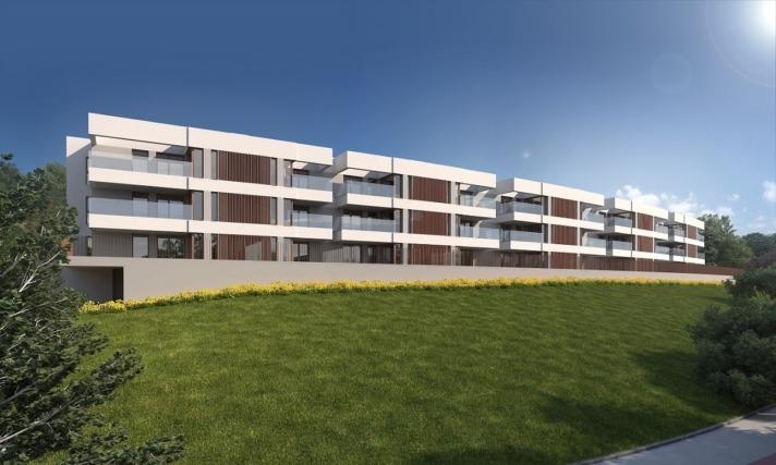 Recreación de la promoción residencial que ACR Grupo tiene previsto edificar en Leioa (Bizkaia).