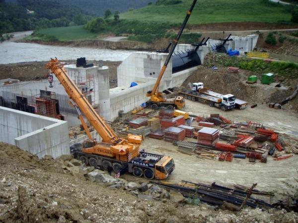El sector de la construcción es el que más alta siniestralidad registra en Navarra.