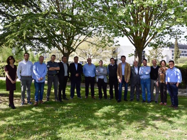 Ana Aracama (directora ESIC), Daniel Iturralde (Wzen), Patxi Larumbe (Cocuus), Daniel Rico (Cocuus), Arturo Reyes (Indorganic),  Eduardo Clavijo (Valuecar), Santiago Iturralde (Wzen), David Eguizabal (Valuecar), Arturo Plasencia (Indoorganic), Carles Arnabat (Green Killer Wins), Vicente Arregui (ESIC Madrid), Miguel Pueyo (BeHelpie), Ignacio Gallardo (ESIC), Nuria Centeno (ESIC) y Hansel Fernández (tospeaking.com).