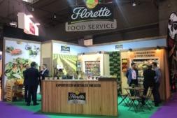 El stand de Florette en Alimentaria-Hostelco 2018, que se está celebrando esta semana en Barcelona.