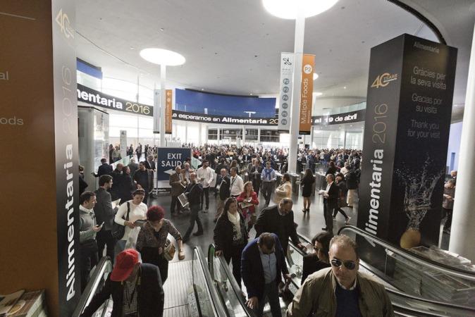 Fira congrega en Barcelona, en apenas tres semanas, 4 ferias con 6.500 empresas expositoras, el 25% internacionales, y más de 185.000 profesionales de 150 países. (Fotos: Alimentaria 2016)