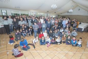 Foto de grupo del 'Día de la empresa' en Gurpea