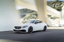 Imagen promocional del nuevo Clase C de Mercedes.