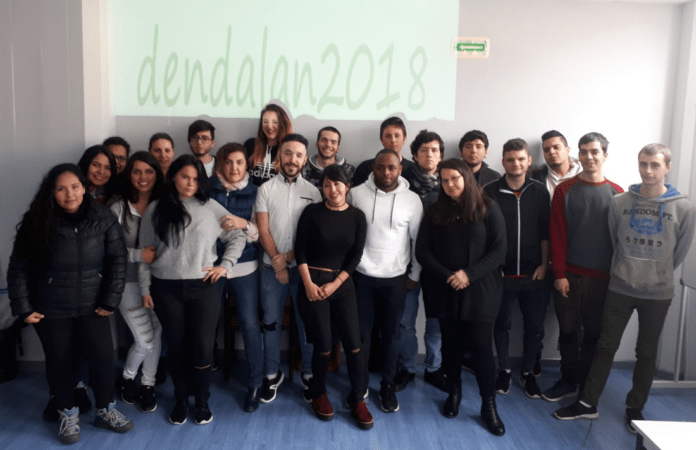 Participantes en el programa Dendalan 2018