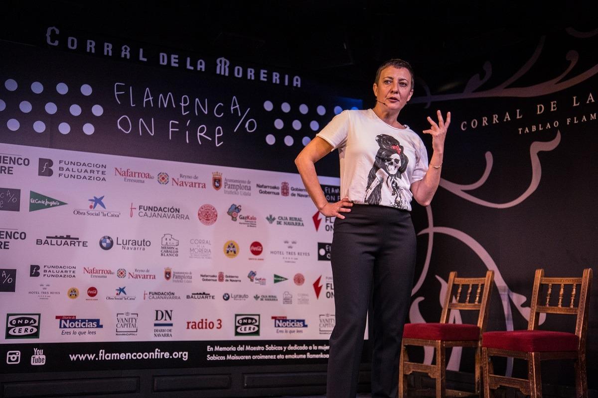 Eva H presenta Flamenco on Fire 2018 (FOTO: Rafa Manjavacas).