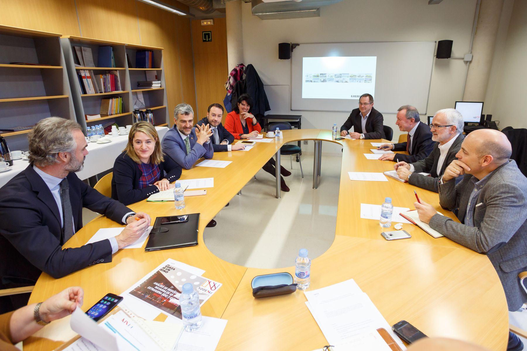 La reunión ha sido convocada por el Consejo Social de la UPNA.