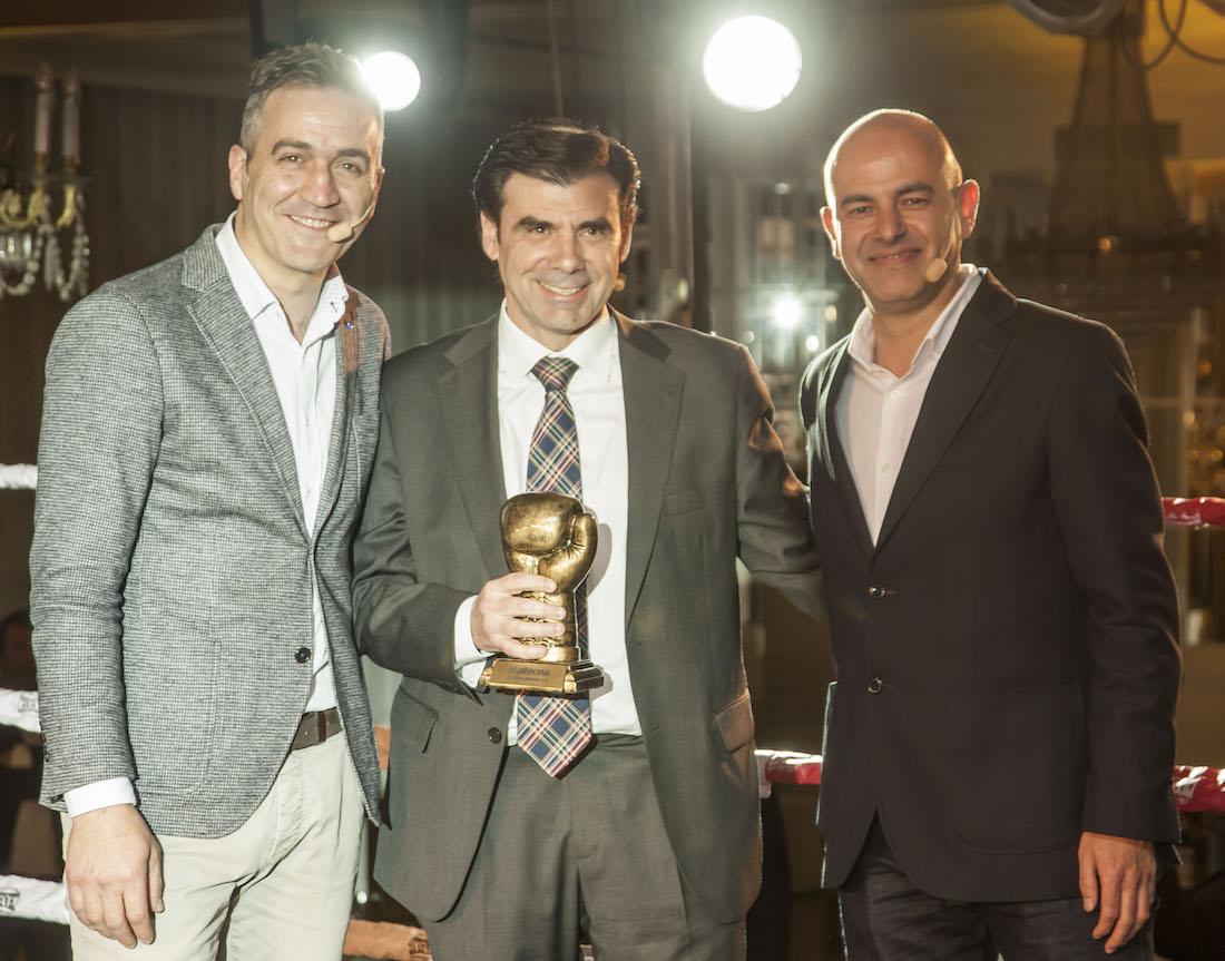 Gorka Lacunza, Ignacio Ugalde y Fernando Iribarren.