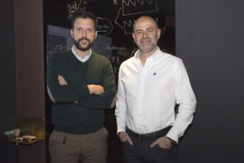 Jaime Urtasun y Fernando Iribarren