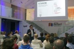 Marc Vidal durante su conferencia en CEIN