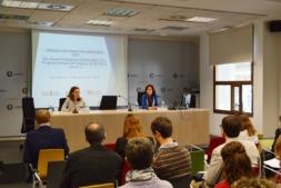 Un momento del encuentro celebrado ayer en CENER.