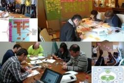 Representación de diversas actividades de innovación desarrolladas por Beesy con sus clientes.