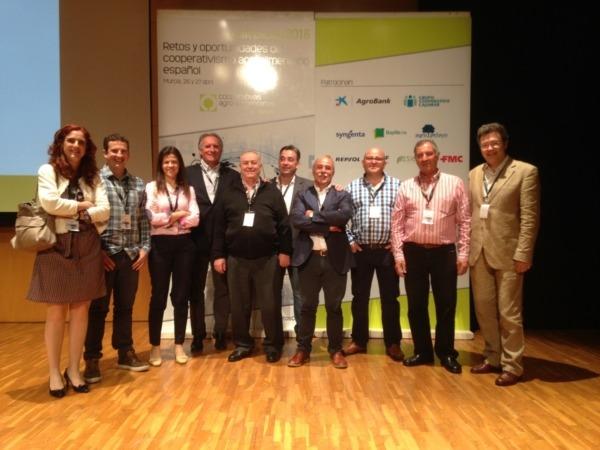 Los integrantes de la delegación de UCAN que participaron en la convención.